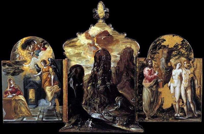 Моденський триптих   Ель Греко