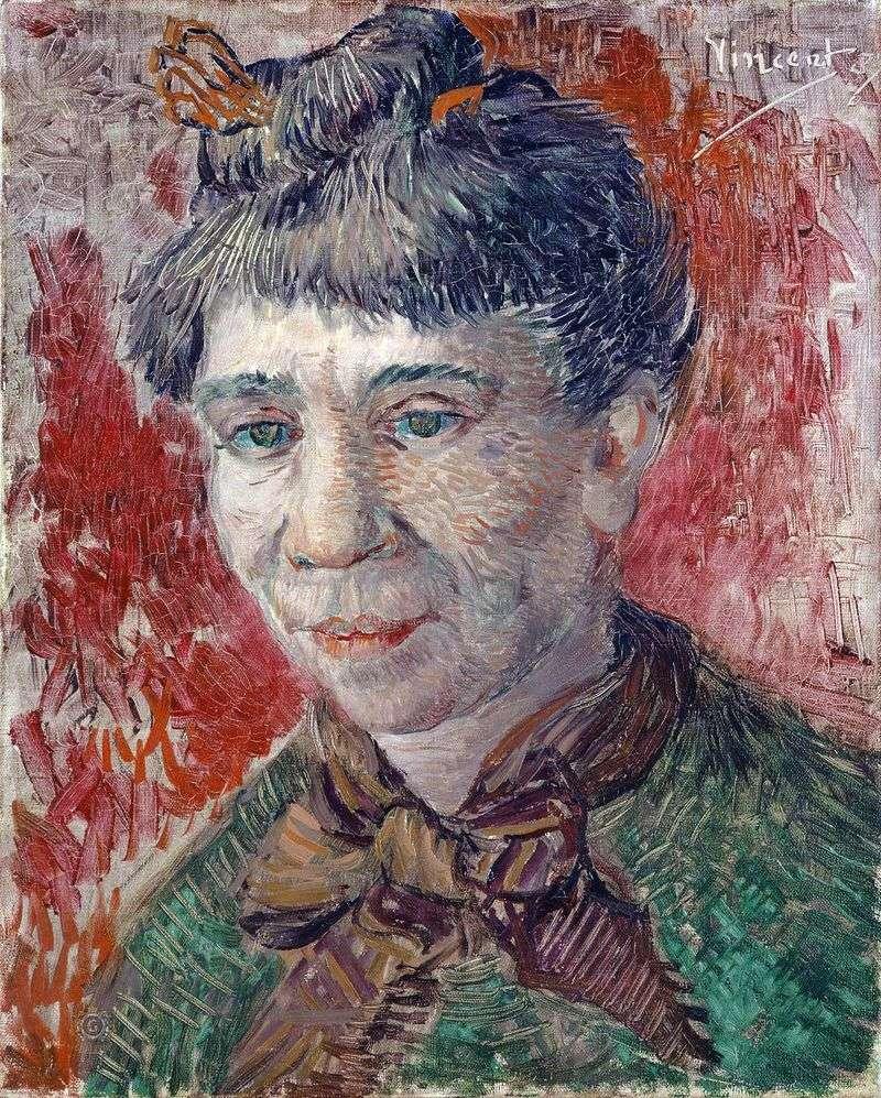 Портрет жінки   Вінсент Ван Гог