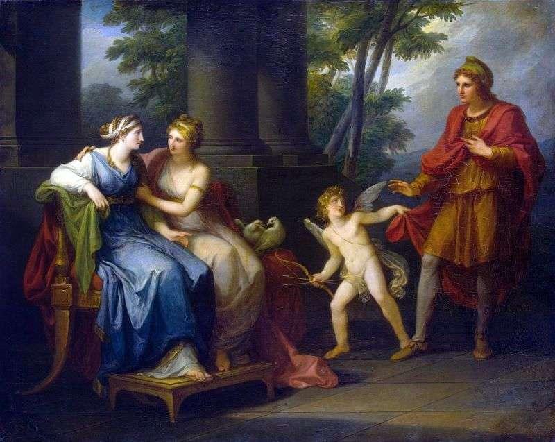Венера представляє Олені Паріса   Ангеліка Кауфман