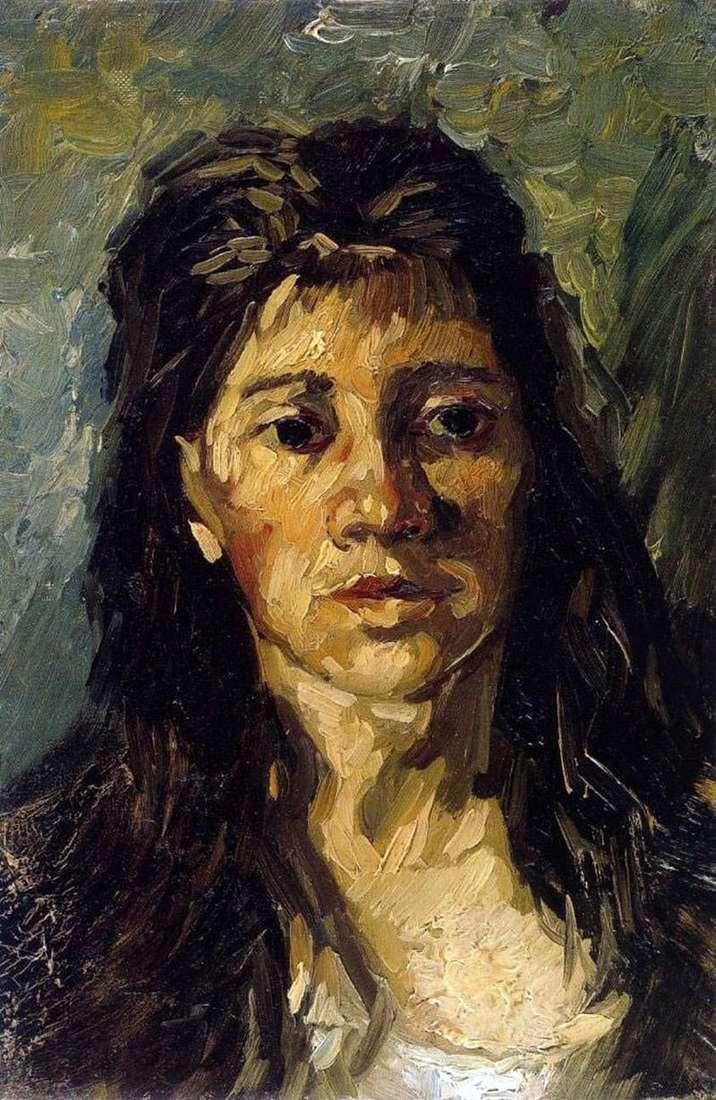 Портрет жінки з розпущеним волоссям   Вінсент Ван Гог