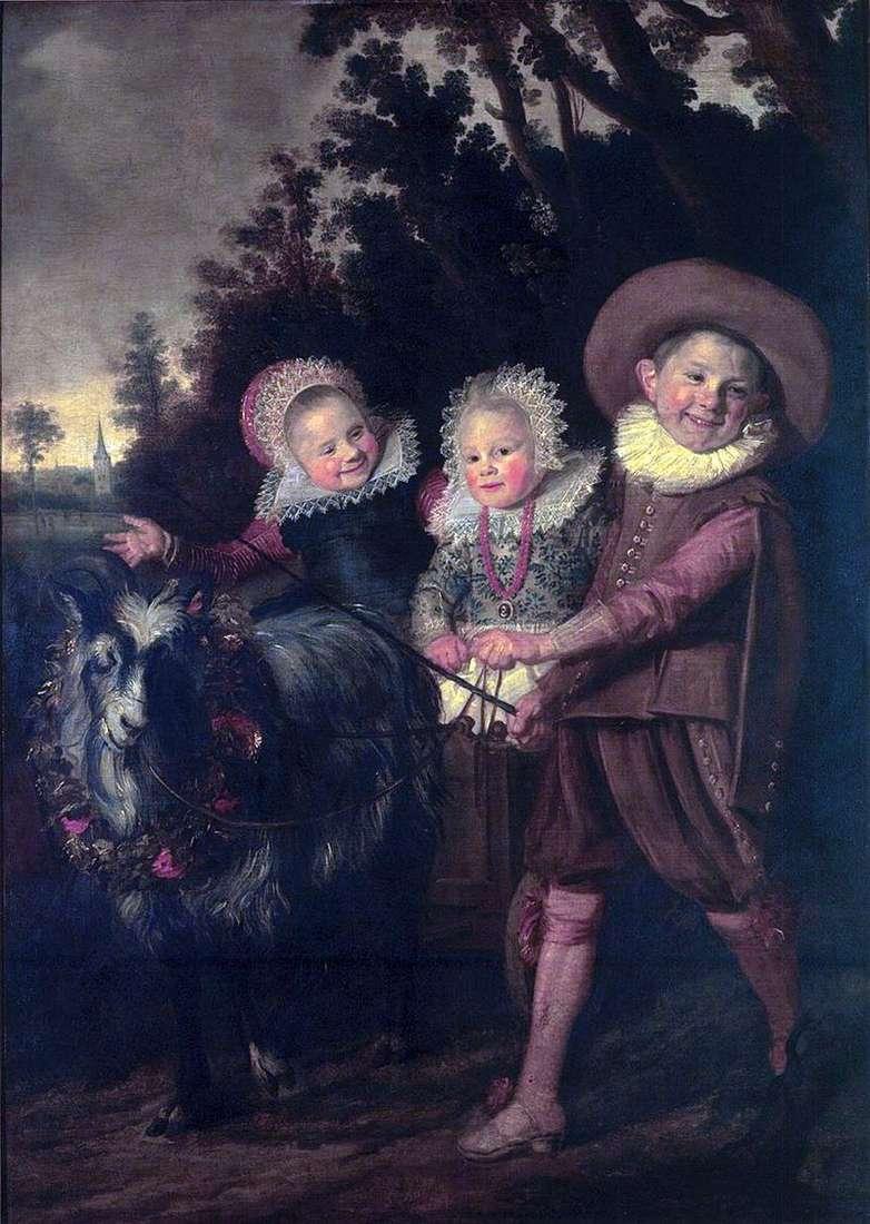 Група дітей   Франс Халс