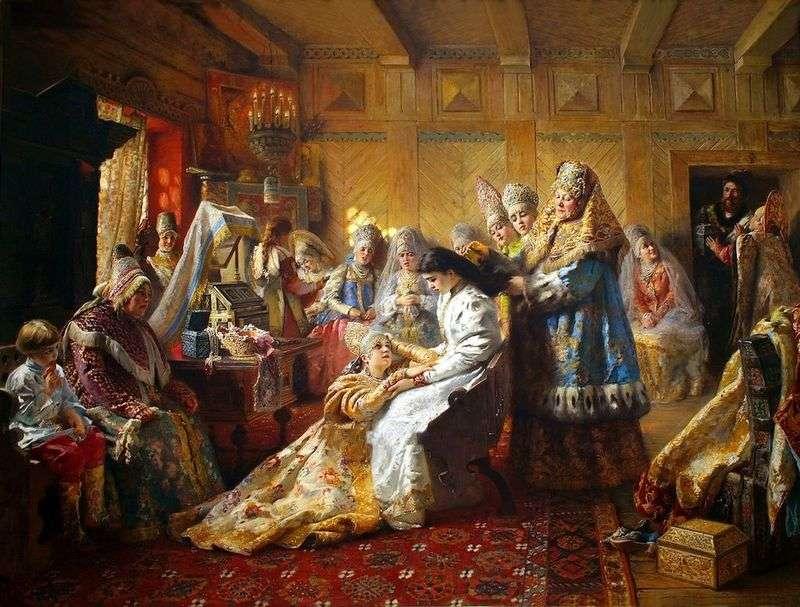 Під вінець   Костянтин Маковський