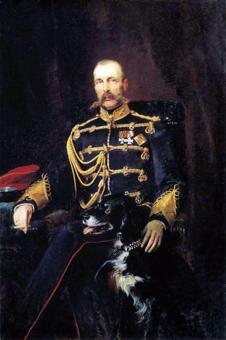 Портрет Олександра II   Костянтин Маковський