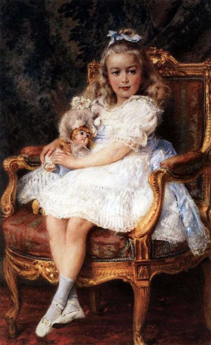 Портрет великої княжни Марії Миколаївни   Костянтин Маковський