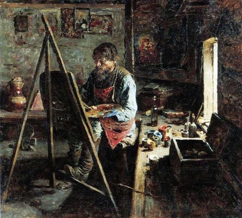 Сільський іконописець   Абрам Архипов