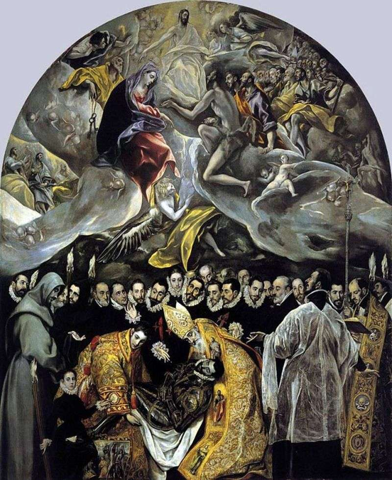 Поховання графа Оргаса   Ель Греко