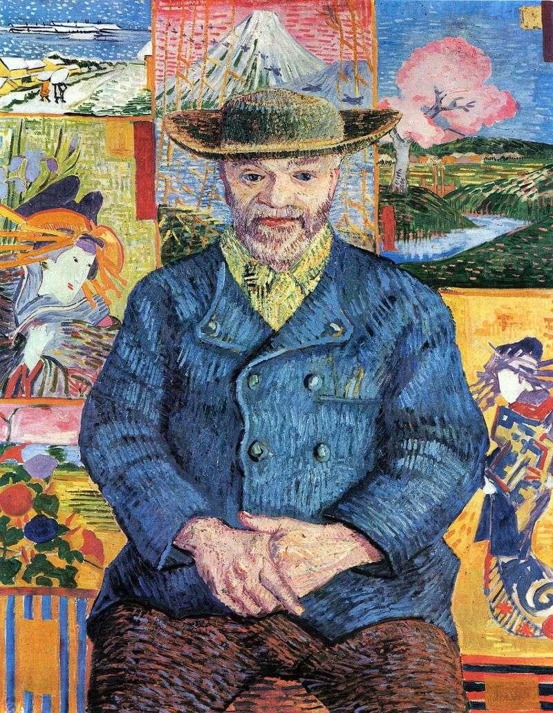 Портрет татуся Тангі   Вінсент Ван Гог