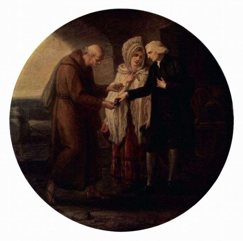 Монах из Кале   Ангелика Кауфман