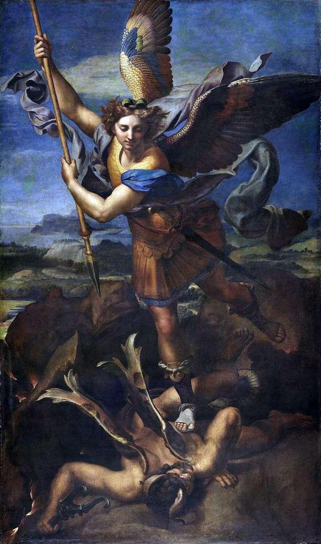 Святий Михайло і Диявол   Рафаель Санті