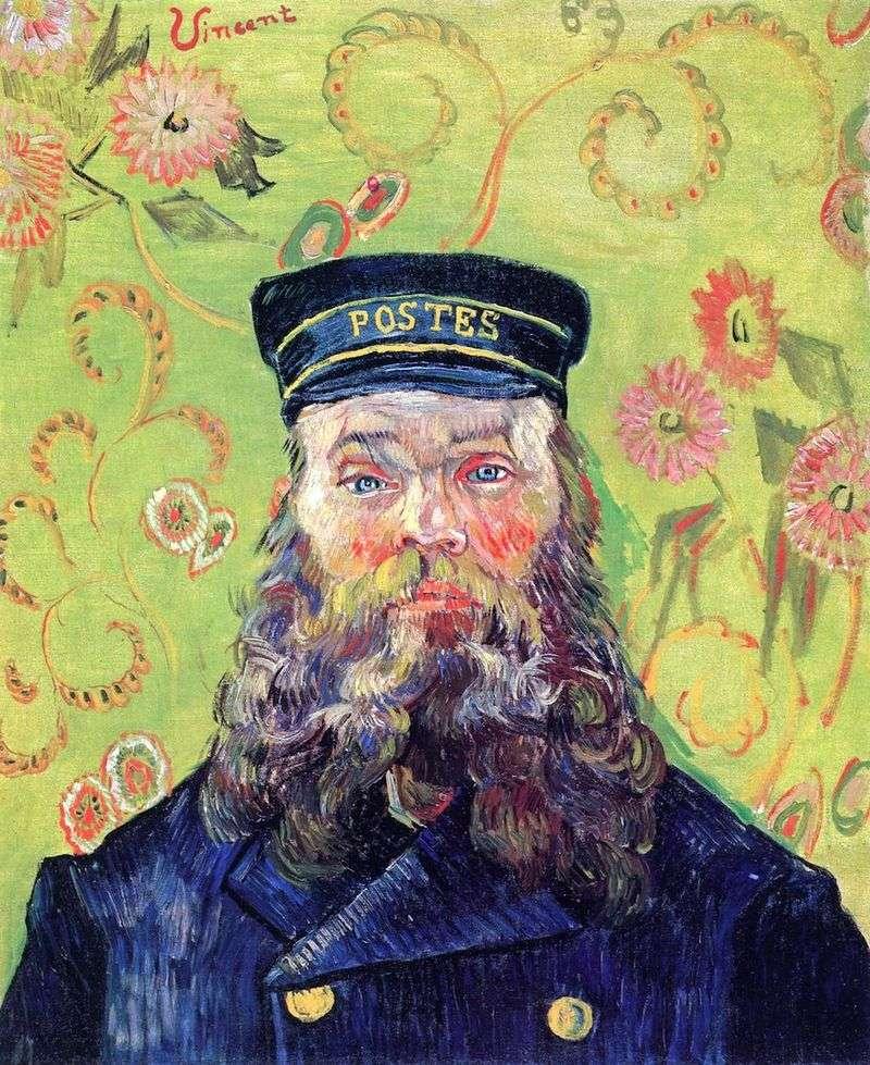 Портрет листоноші Жозефа Рулена III   Вінсент Ван Гог
