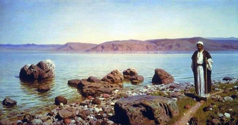 На Тіверіядським (Генісаретському) озері   Василь Полєнов