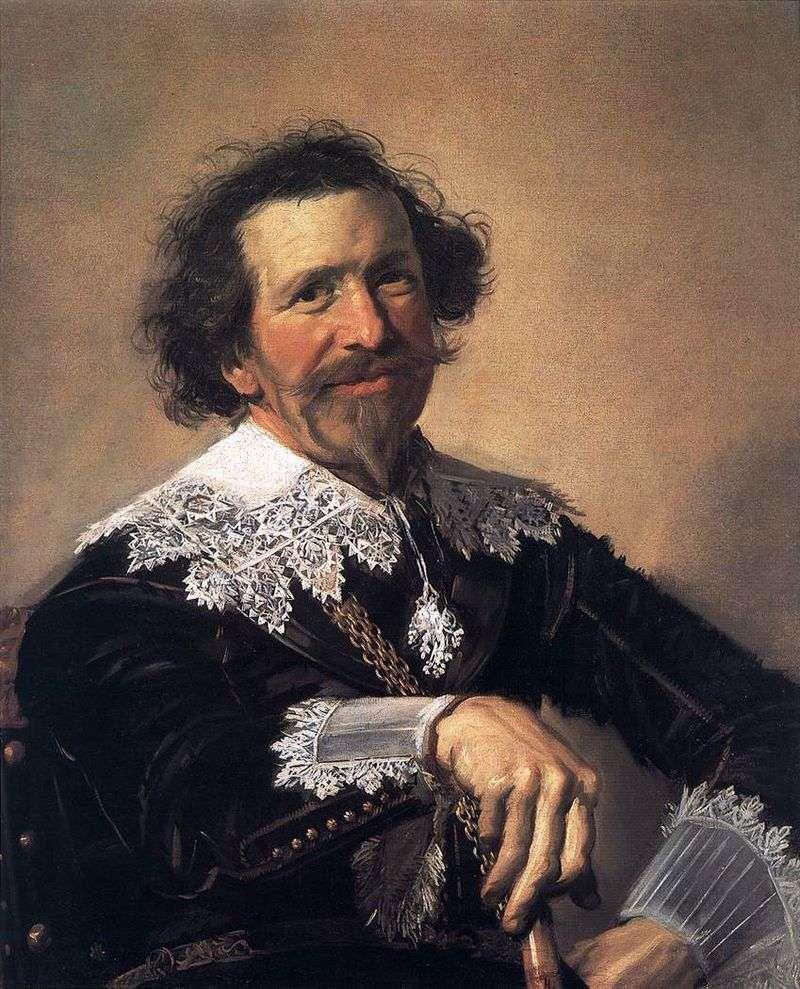 Портрет Пітера ван ден Броку   Франс Халс