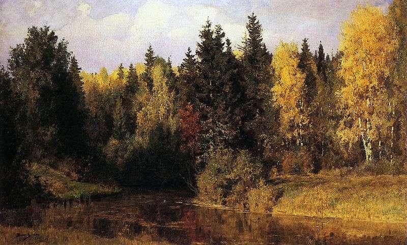Осінь в Абрамцеві   Василь Полєнов