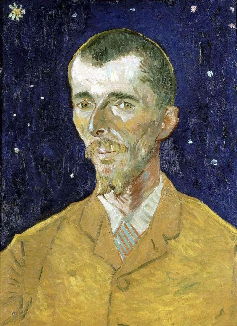 Поет, портрет Ежена Боша   Вінсент Ван Гог
