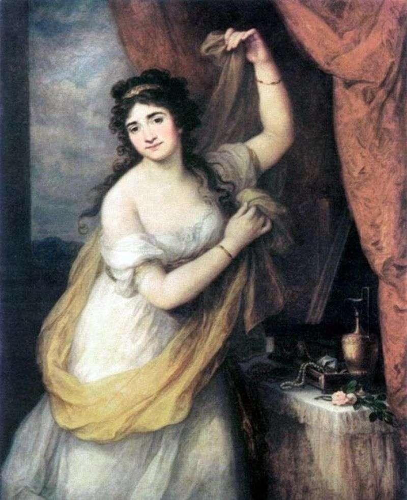 Портрет княгині Естерхазі   Ангеліка Кауфман