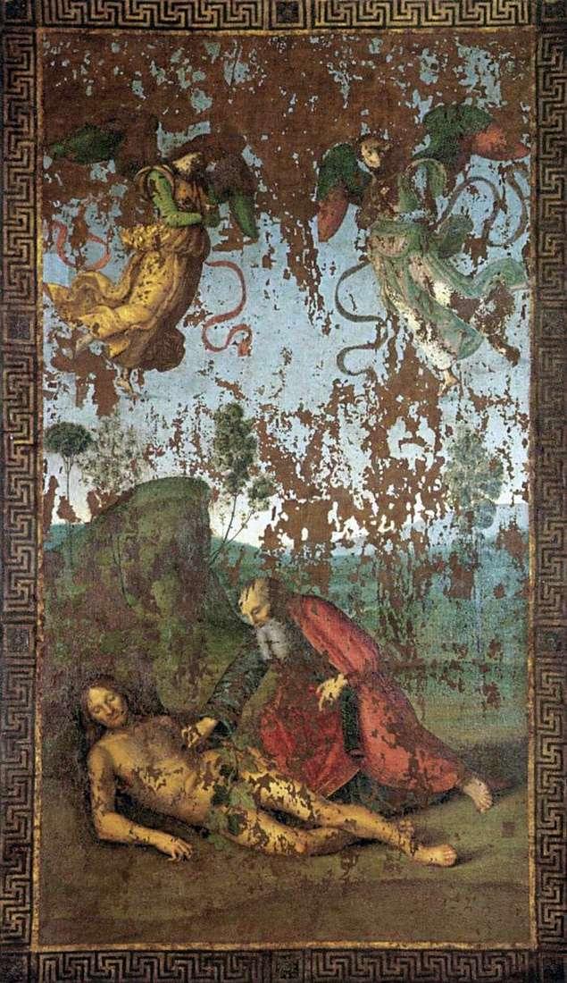 Створення Єви з Адама   Рафаель Санті