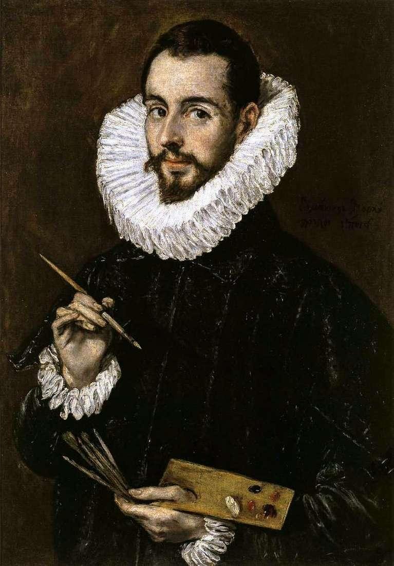 Портрет живописця   Ель Греко