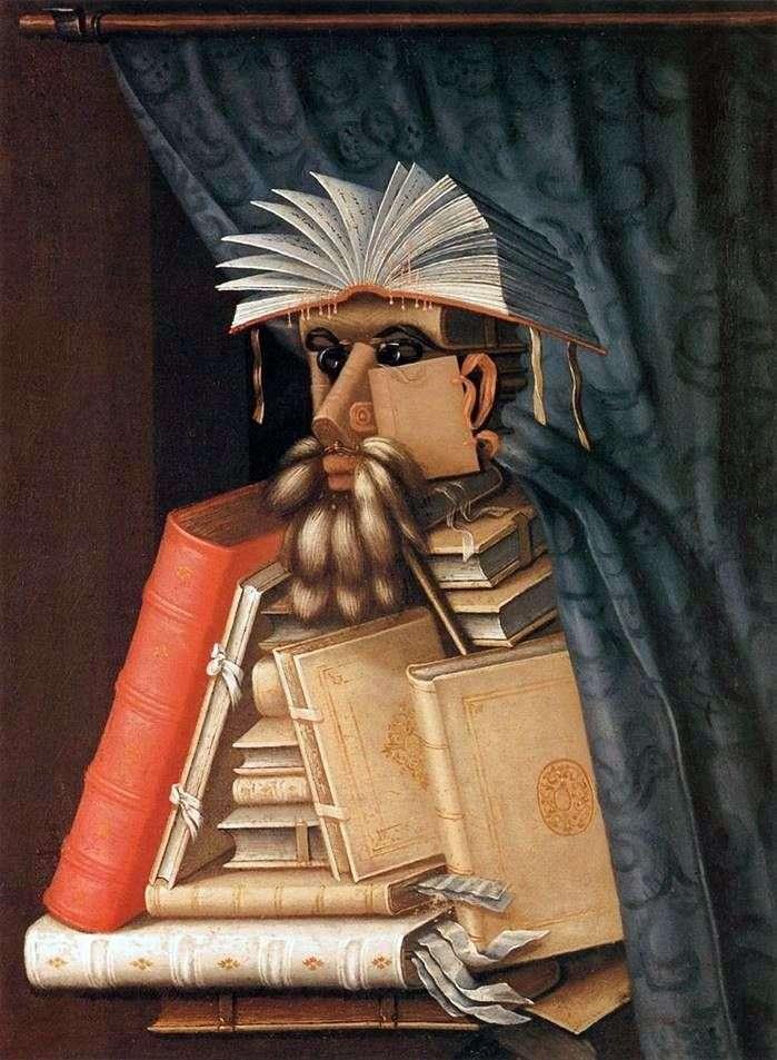Бібліотекар   Джузеппе Арчімбольдо