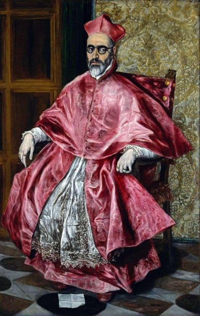 Портрет кардинала   Ель Греко