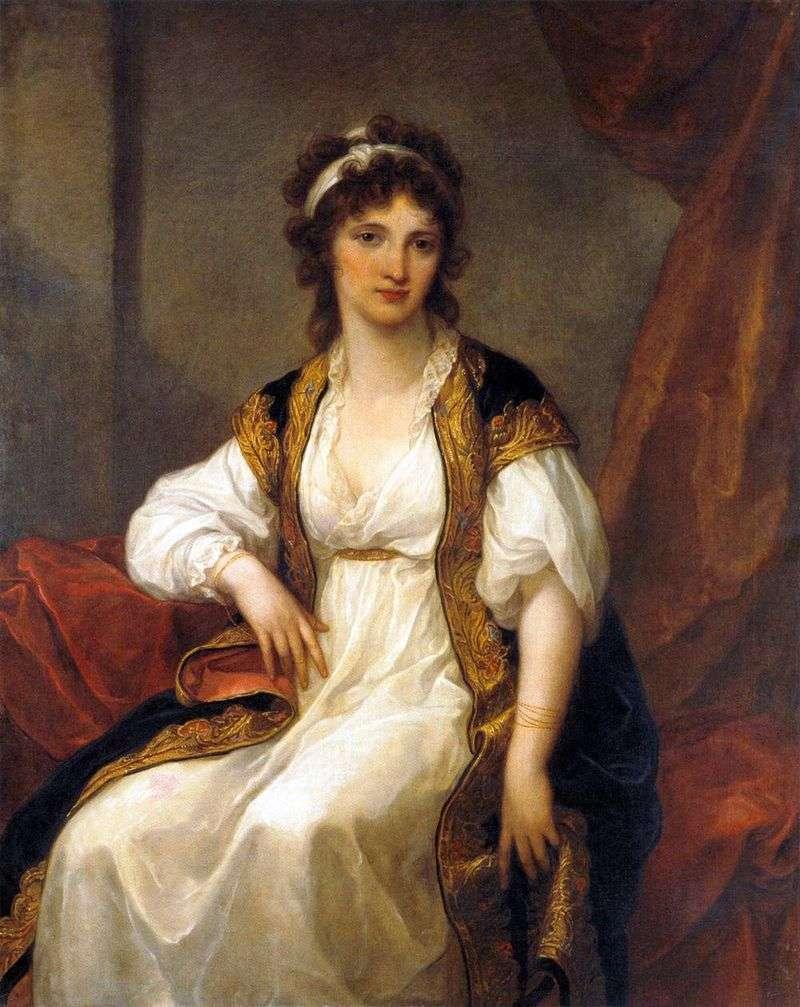 Портрет молодої жінки   Ангеліка Кауфман
