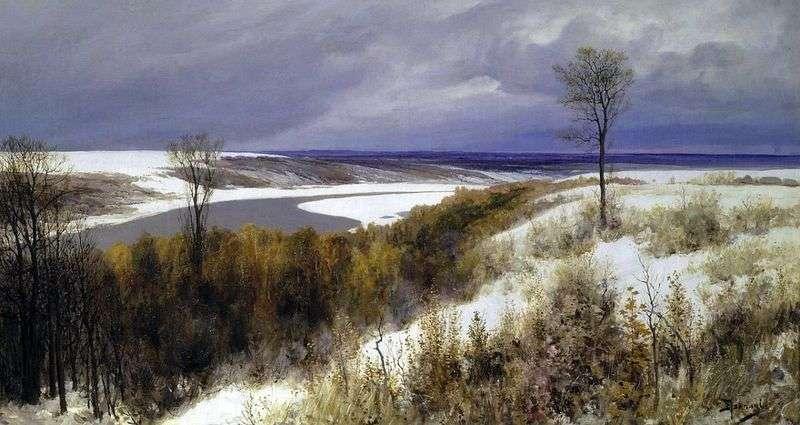 Ранній сніг   Василь Полєнов