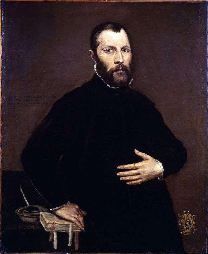 Портрет чоловіка   Ель Греко