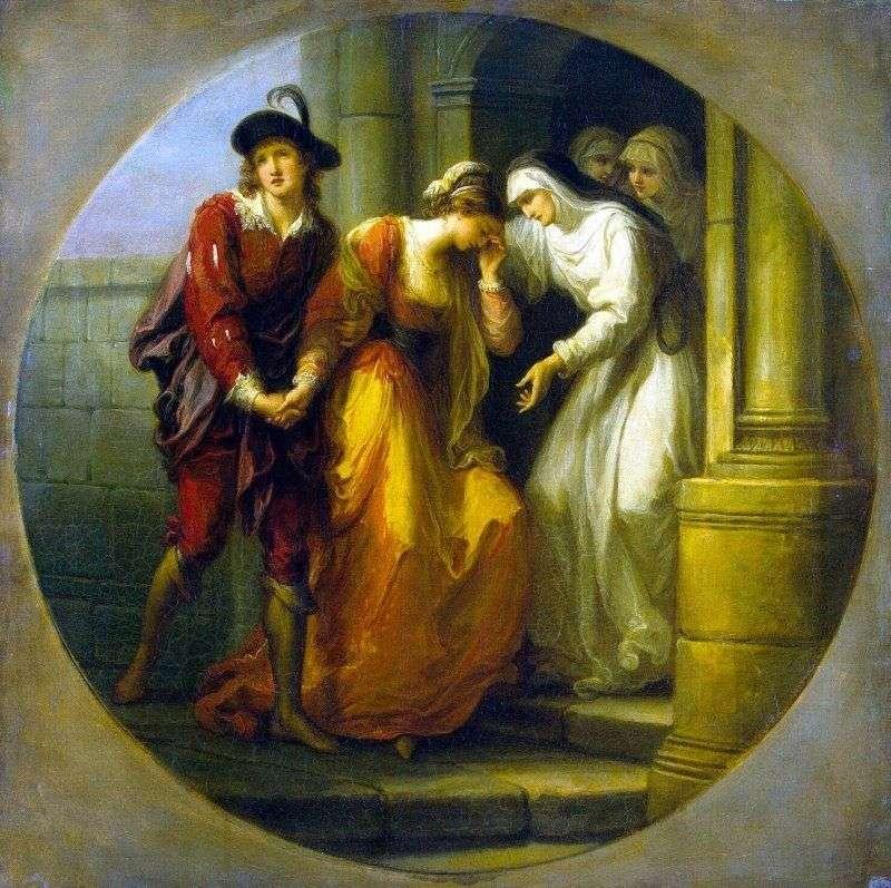 Прощання Абеляра і Елоїзи   Ангеліка Кауфман