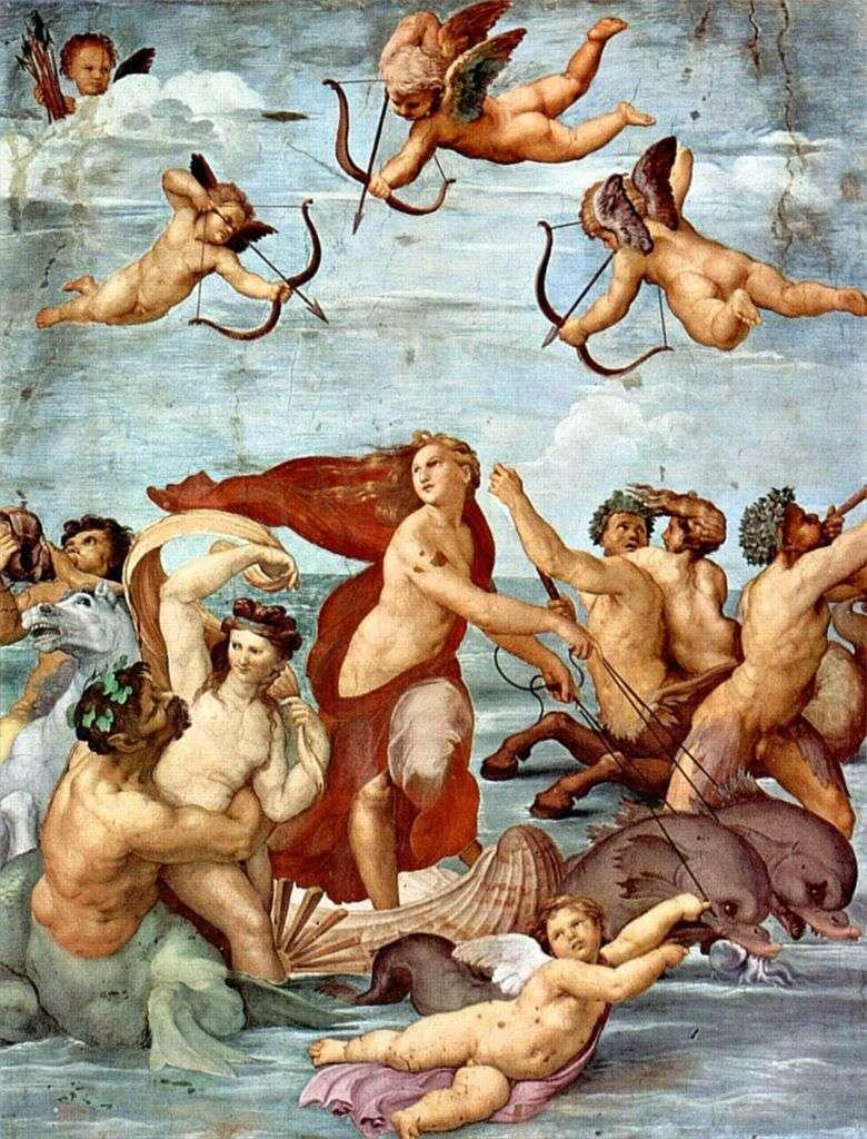 Тріумф Галатеї (фреска)   Рафаель Санті