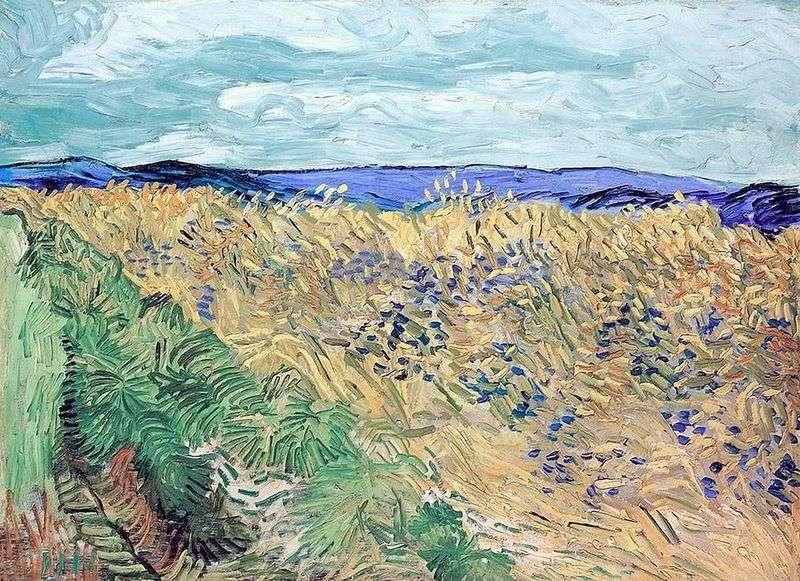Пшеничне поле з волошками   Вінсент Ван Гог