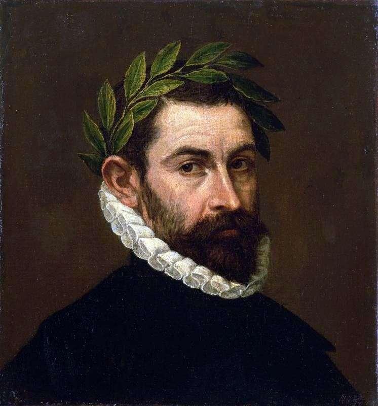 Портрет поета Алонсо Эрсильи і Суньіга   Ель Греко