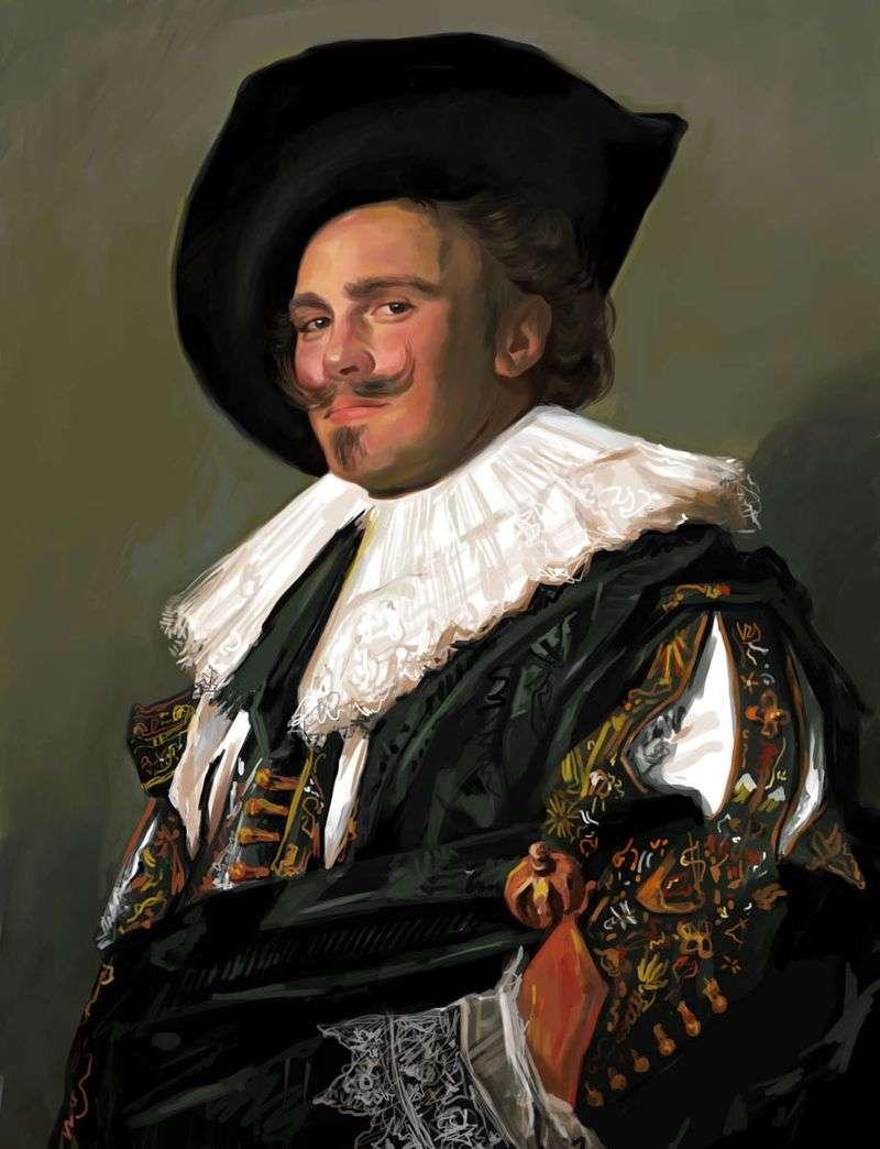 Усміхнений кавалер   Франс Халс