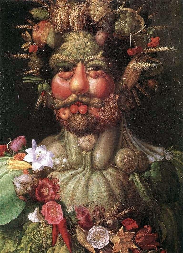 Портрет імператора Рудольфа II   Джузеппе Арчимбольди