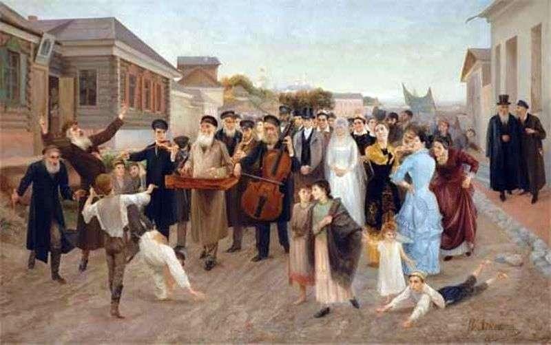 Єврейське весілля   Ісаак Аскназий