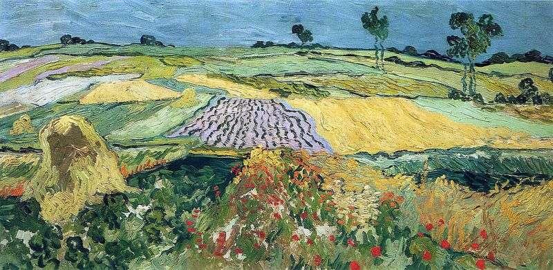 Пшеничні поля, рівнина Овер   Вінсент Ван Гог