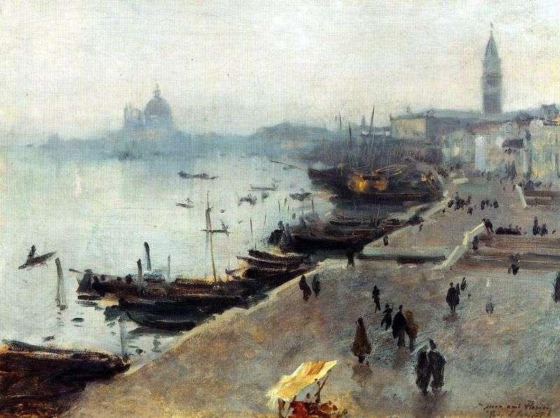 Вид Венеції в похмурий день   Джон Сарджент