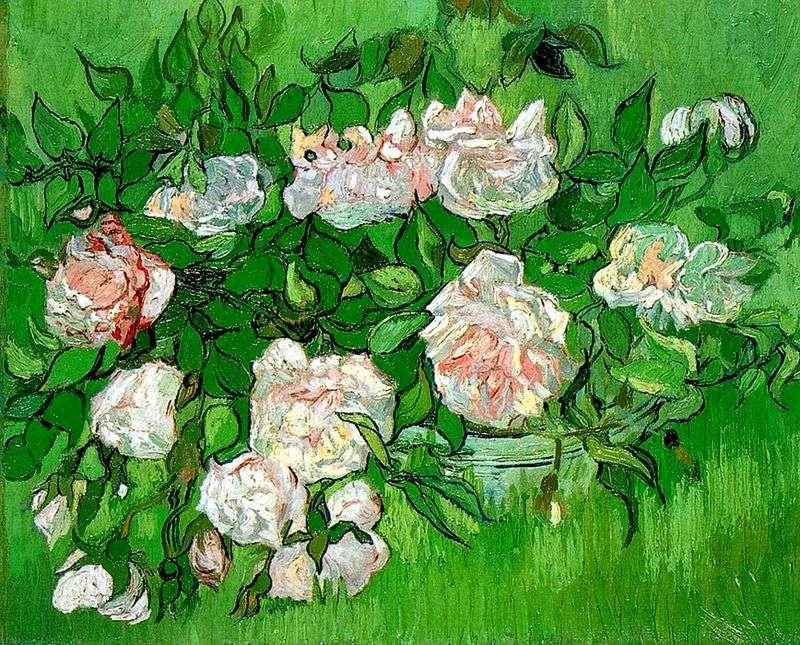 Рожеві троянди   Вінсент Ван Гог