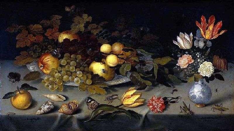 Квіти і фрукти   Балтазар ван дер Аст