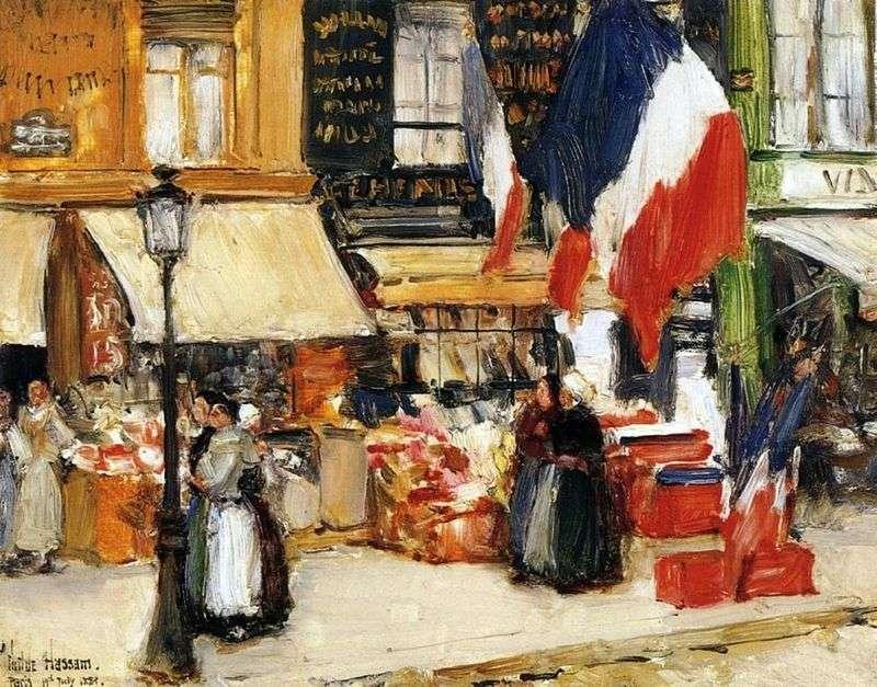 День взяття Бастилії, Париж   Чайлд Хассам