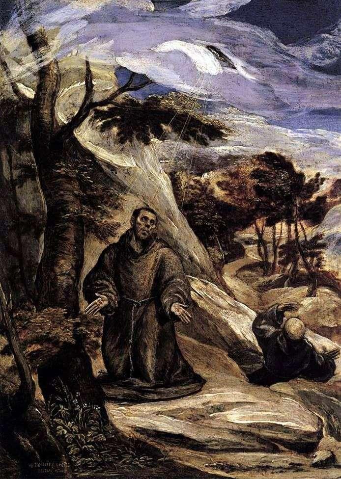 Стигматизація Святого Франциска   Ель Греко