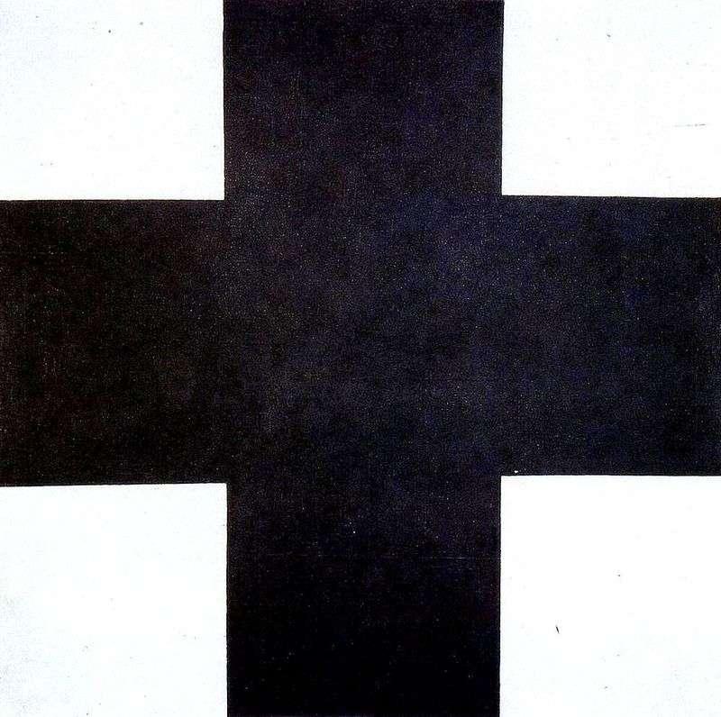 Чорний хрест   Казимир Малевич