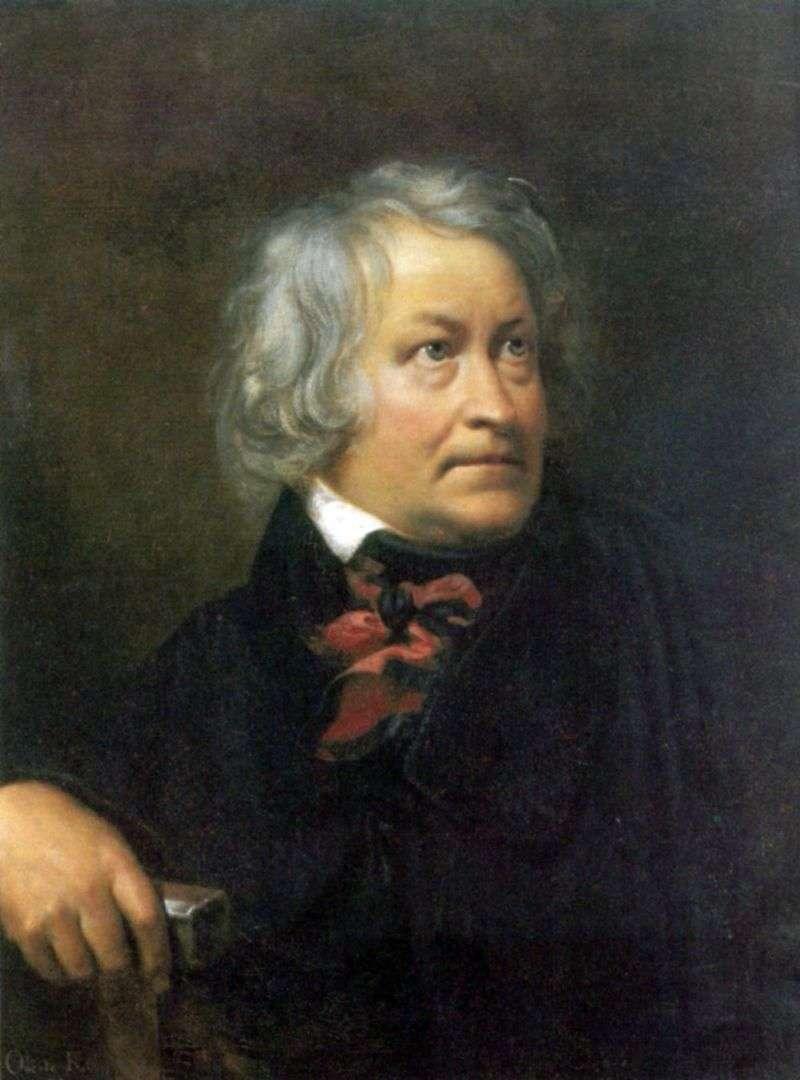 Портрет скульптора Торвальдсена   Орест Кіпренський