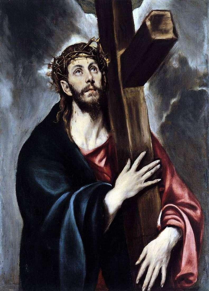 Христос що несе хрест   Ель Греко