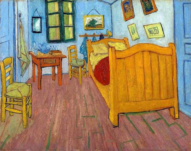 Спальня Вінсента в Арле (Спальня Ван Гога)   Вінсент Ван Гог