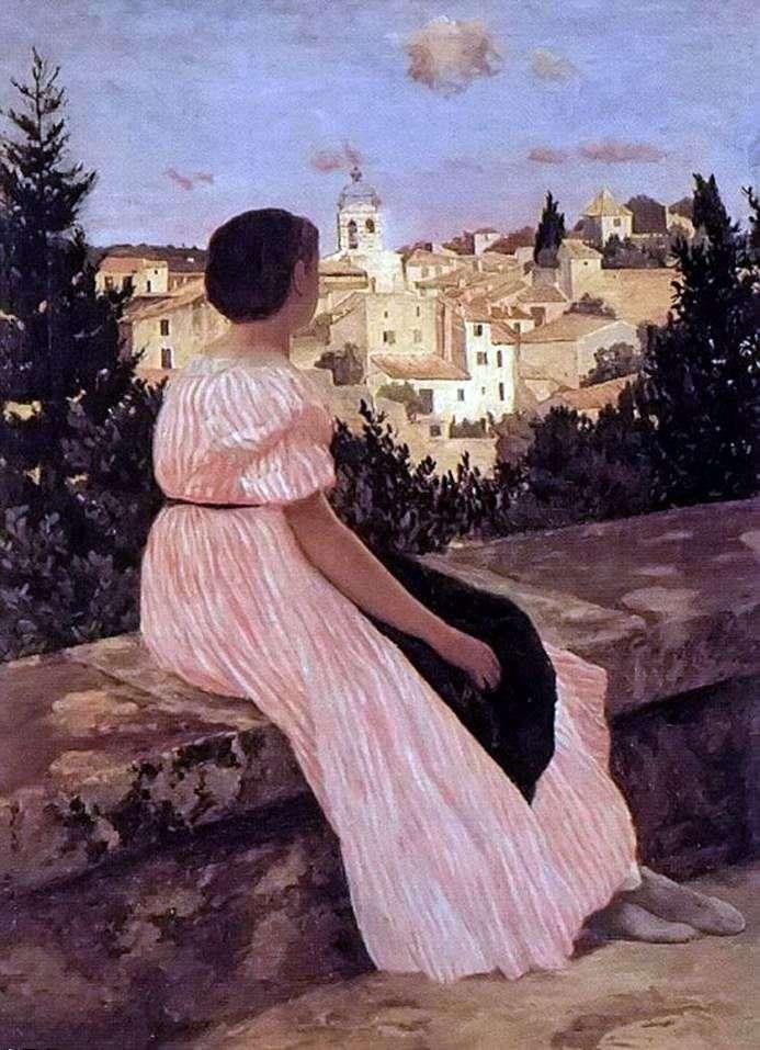 Рожеве плаття   Фредерік Базиль