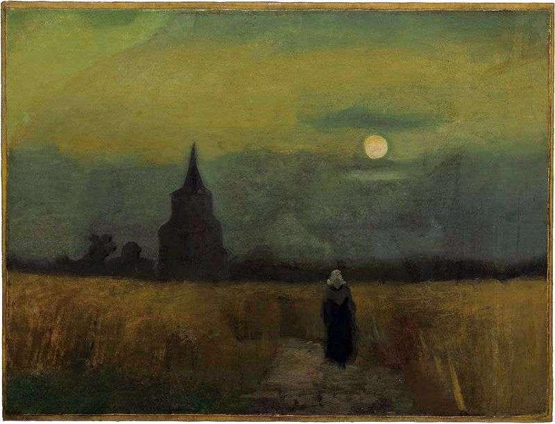 Стара башта серед полів   Вінсент Ван Гог