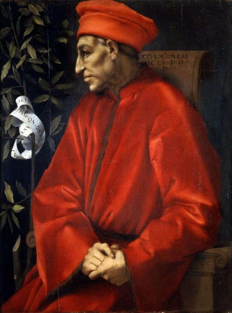 Портрет Козімо Старшого Медічі   Якопо Понтормо