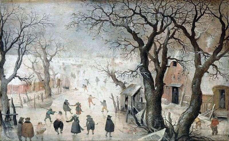 Зима в місті   Аверкамп Хендрік