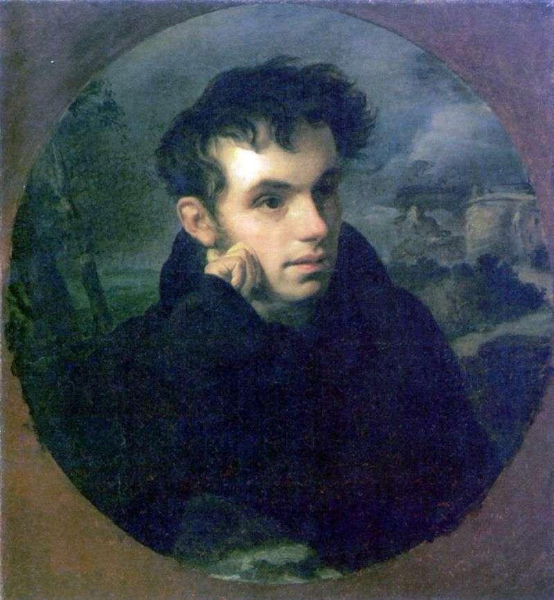 Портрет Ст. А. Жуковского   Орест Кіпренський