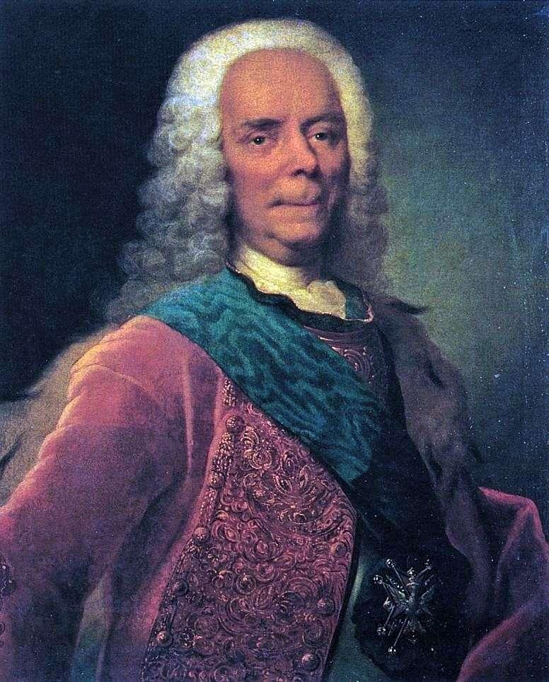 Портрет князя Ст. Ст. Долгорукова   Георг Христофор Гроот