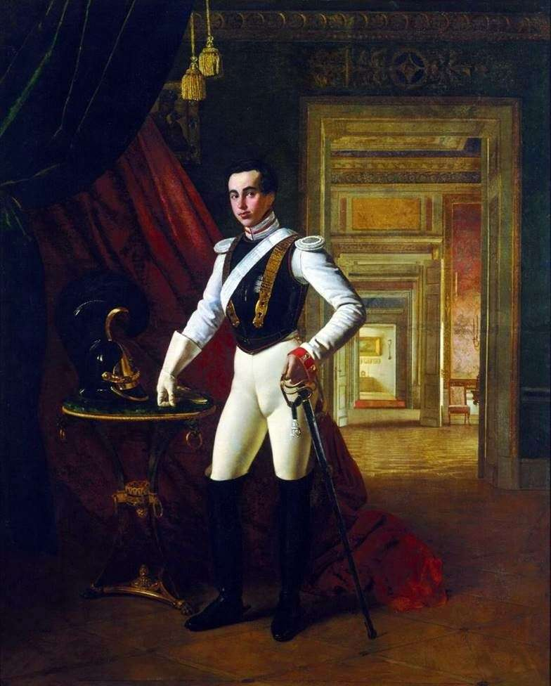 Портрет графа Д. Н. Шереметєва   Орест Кіпренський